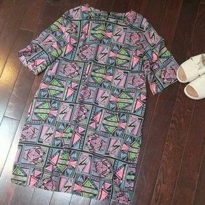 Neon Geo Dress!